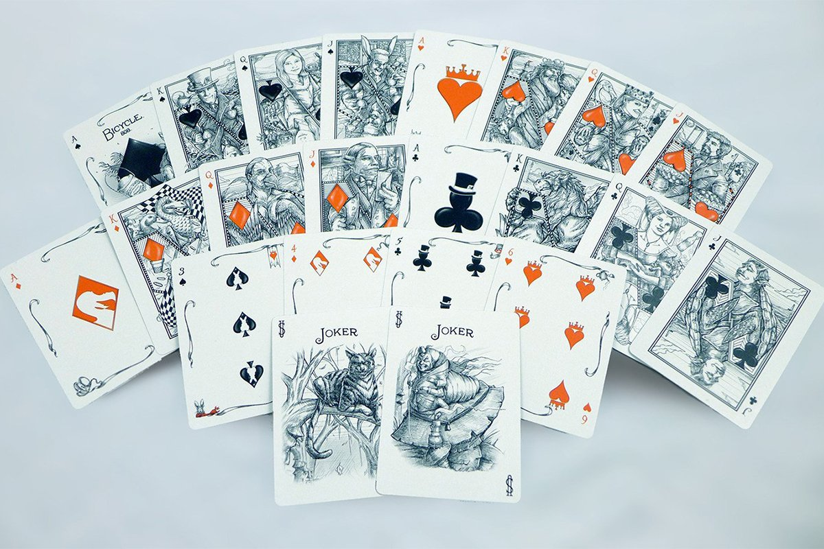 Games - White Rabbit Playing Cards