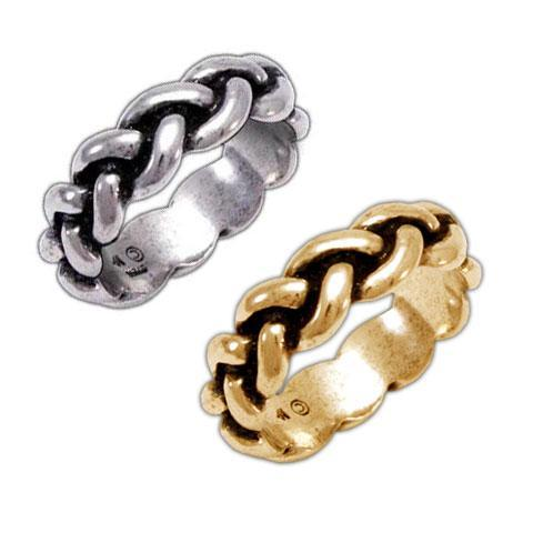 Jewelry - Gold Harry Dresden's Braided Force Ring