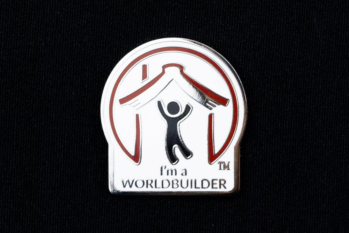 Jewelry - I'm A Worldbuilder Pin