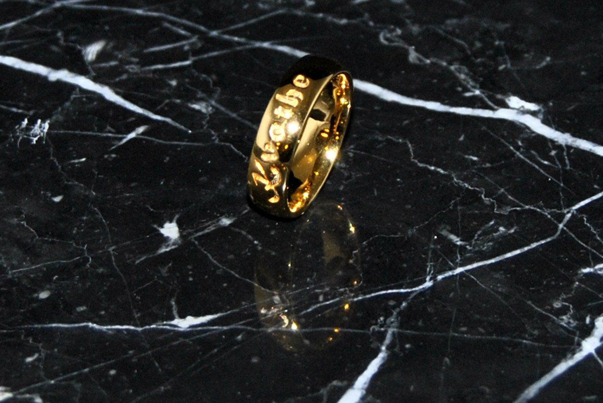Jewelry - Kvothe's Vintish Court Rings - Gold Plated