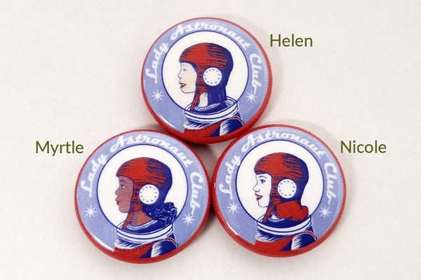 Jewelry - Lady Astronaut Club Pins