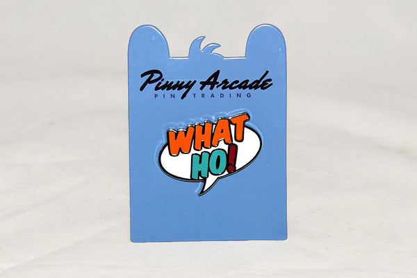 Jewelry - Pinny Arcade What Ho! Pin