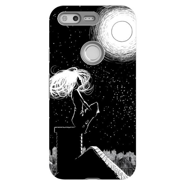 Miscellany - Auri And The Moon Phone Case
