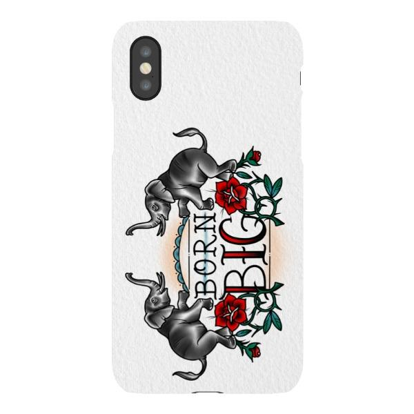 Miscellany - Born Big Vertical Phone Case