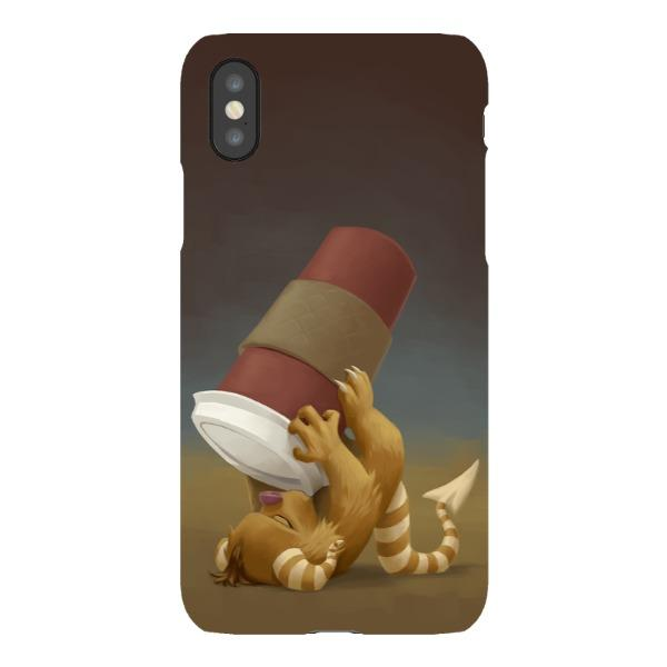 Miscellany - Coffee Critter Chug-a-Lug Phone Case