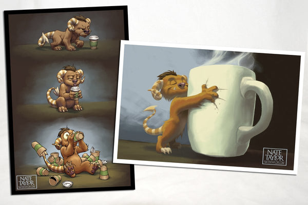 Miscellany - Coffee Critter Postcards