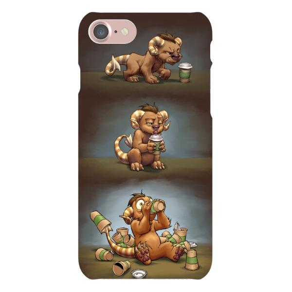 Miscellany - Coffee Critter Triptych Phone Case