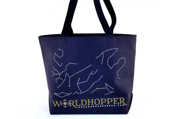 Miscellany - Less Than Perfect Worldhopper Tote Bag