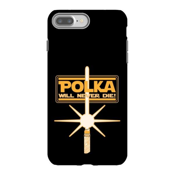 Miscellany - Polka Will Never Die Phone Case