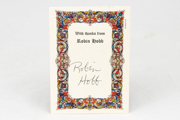 Miscellany - Robin Hobb Signed Bookplate