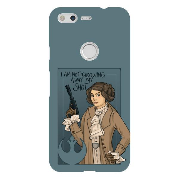 Miscellany - She's Young, Hungry, And Scrappy Phone Case