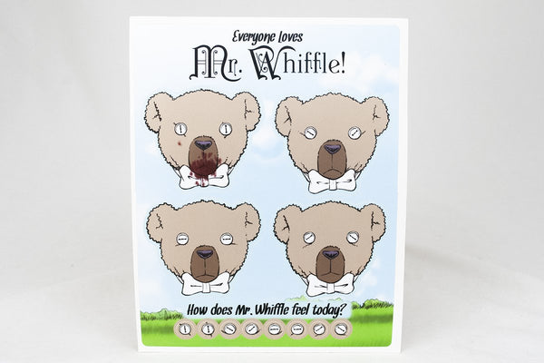 Miscellany - The Expressions Of Mr. Whiffle Sticker Sheet
