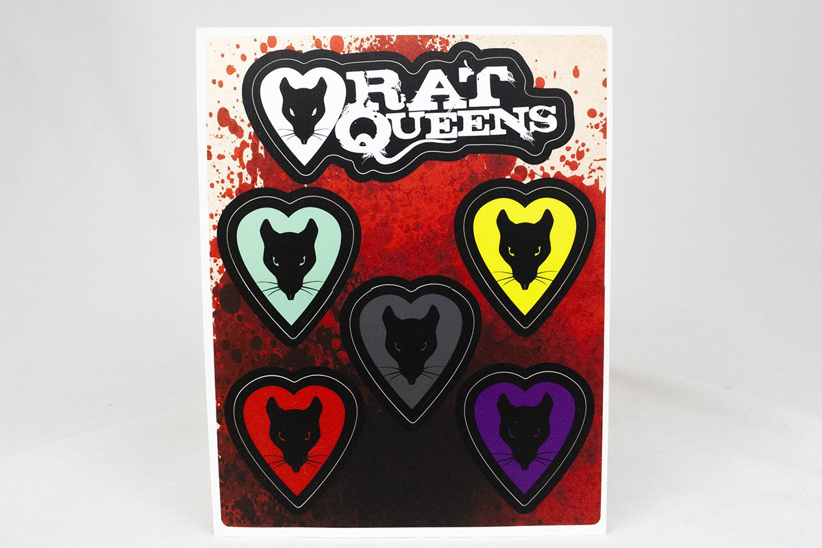 Miscellany - The Queens Sticker Sheet