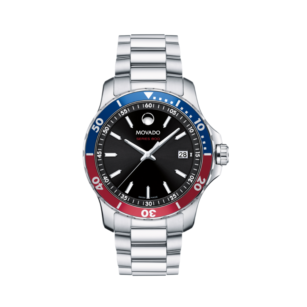 "Movado Series 800 Mens ""Pepsi"" Watch"