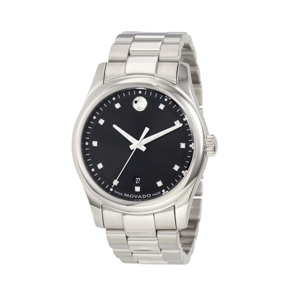 Movado Sportivo Diamond Stainless Steel Men's Watch