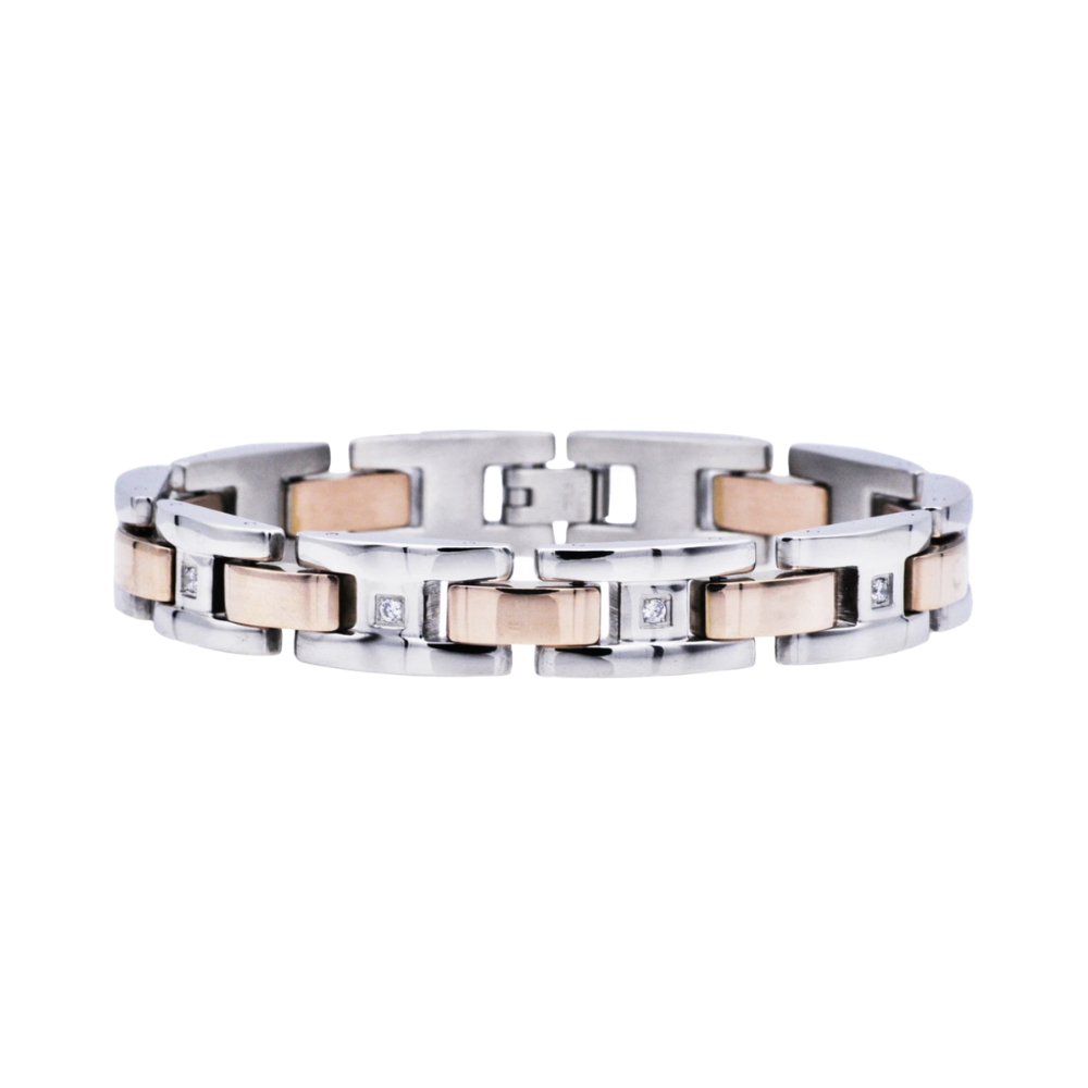 Rose Stainless Steel Bracelet