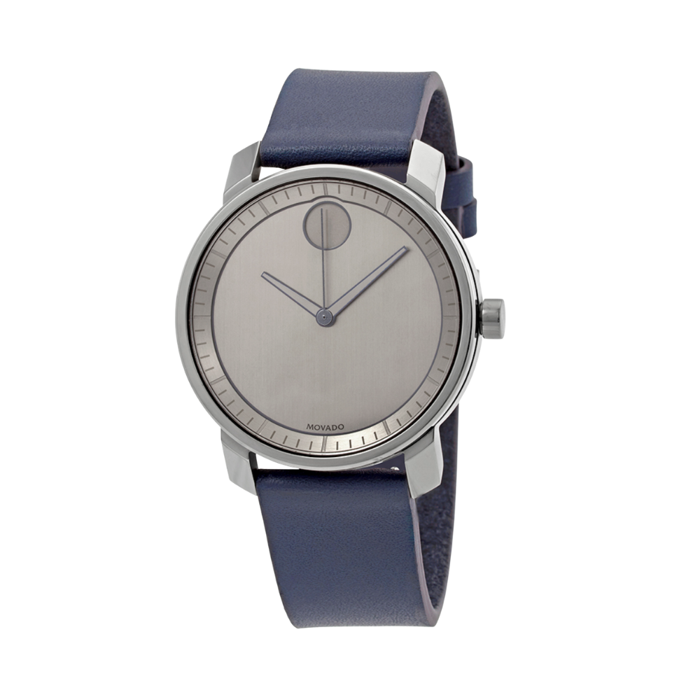 Movado Bold Gunmetal Dial Men's Watch