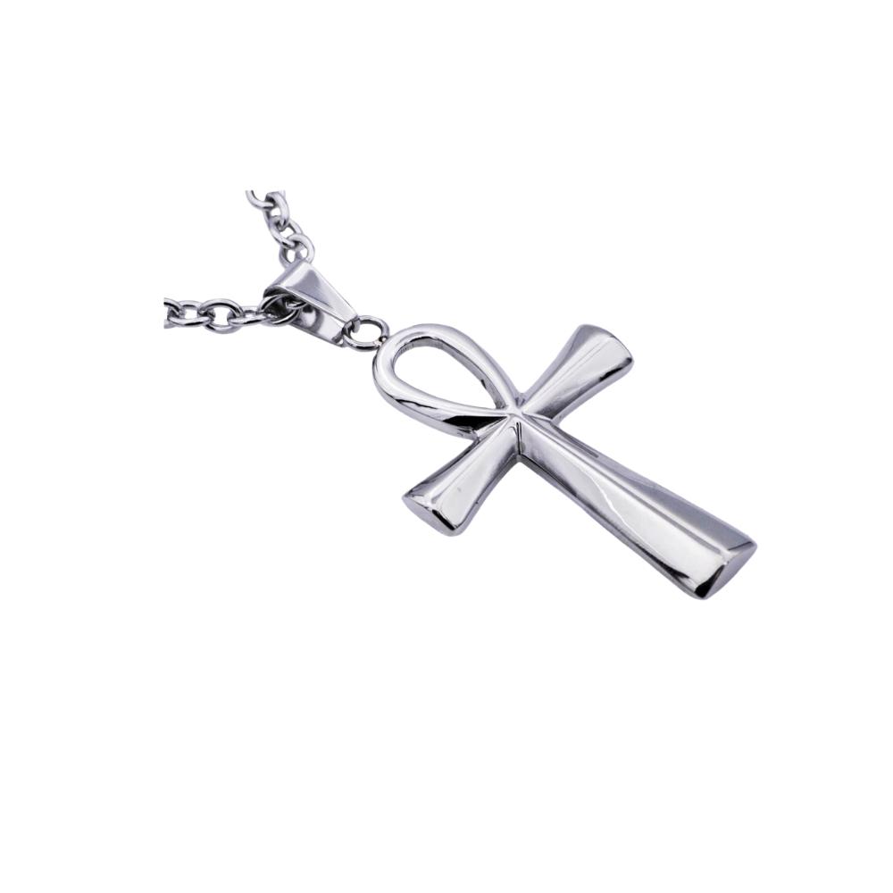 Stainless Steel Ankh Cross Pendant