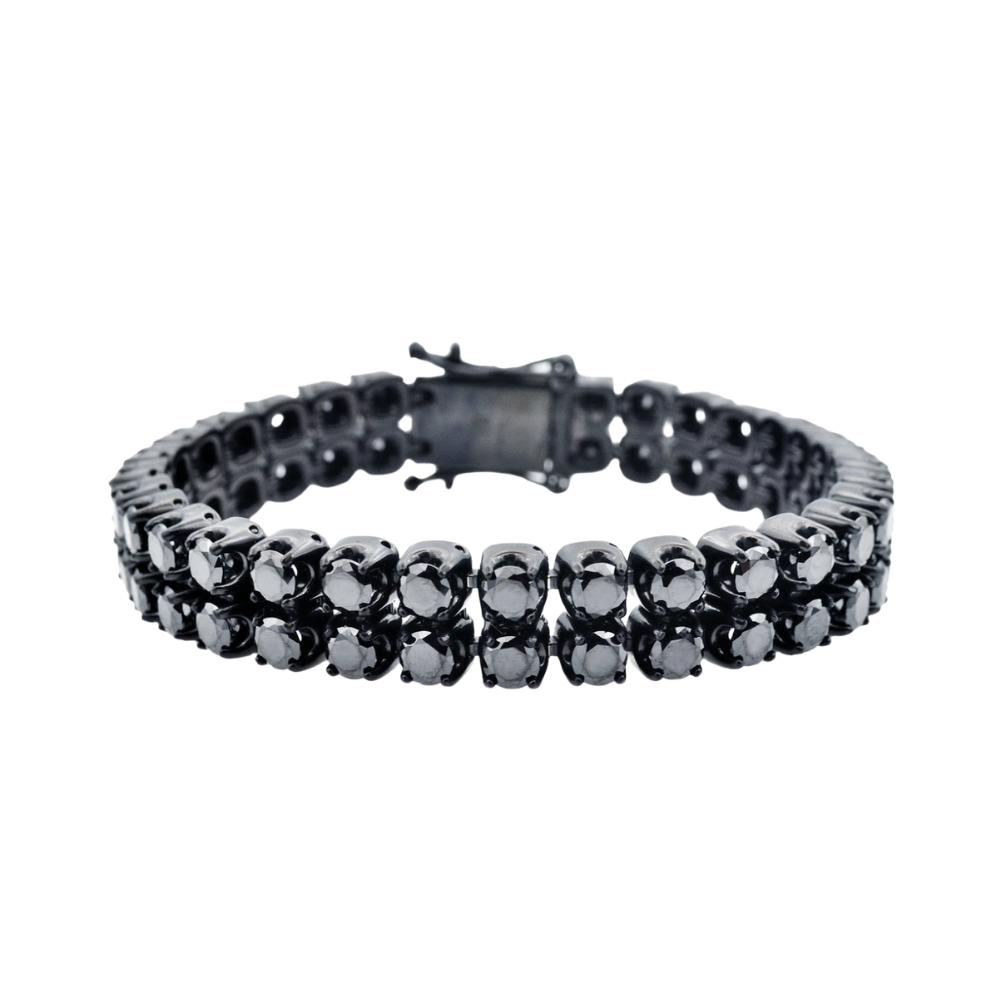 Black Stainless Steel Bracelet