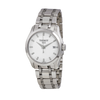 Tissot Couturier Silver Dial Diamond Markers Ladies Watch