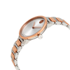 Movado Bold Silver Dial Two-tone Ladies Watch