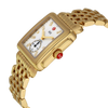 Michele Deco Mid 18K Gold Diamond Dial Watch