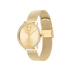 Movado Bold Shimmer Ladies Yellow Gold Watch