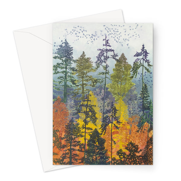 DOXOLOGY greeting card (set of 10, size a5)