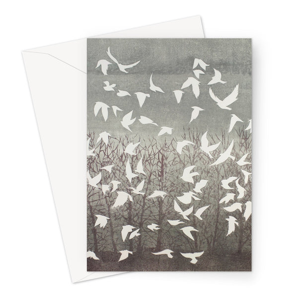 TAKING FLIGHT greeting card (set of 10, size a5)