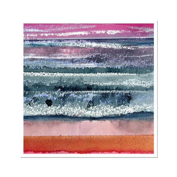 SUNSET SEASCAPE fine art print