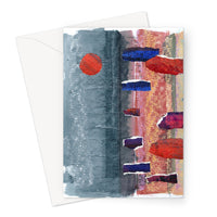 STONE CIRCLE greeting card (set of 10, size a5)