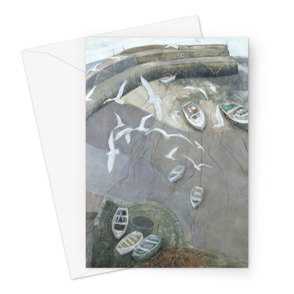 CLOVELLY greeting card (set of 10, size a5)