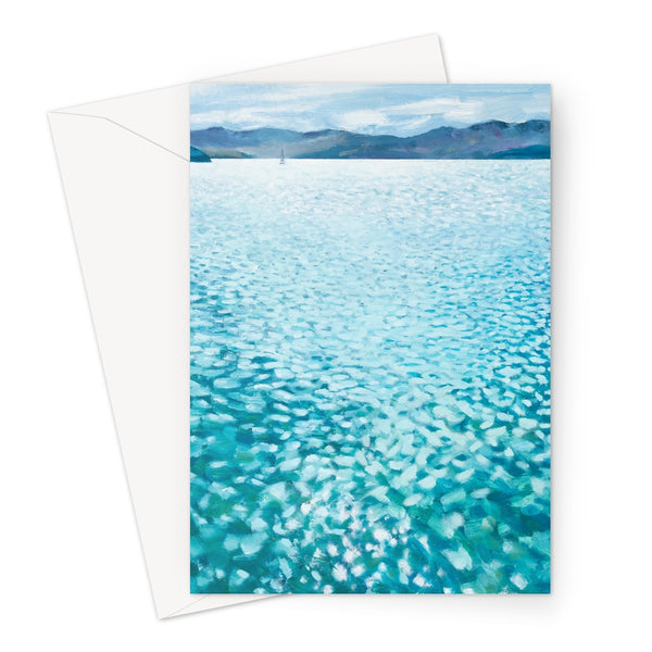 DIAMOND HARBOUR greeting card (set of 10, size a5)