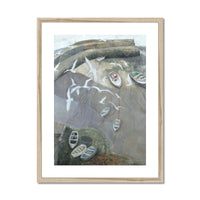 CLOVELLY mounted & framed print