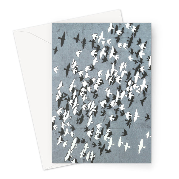 FLOCK YING-YANG greeting card (set of 10, size a5)