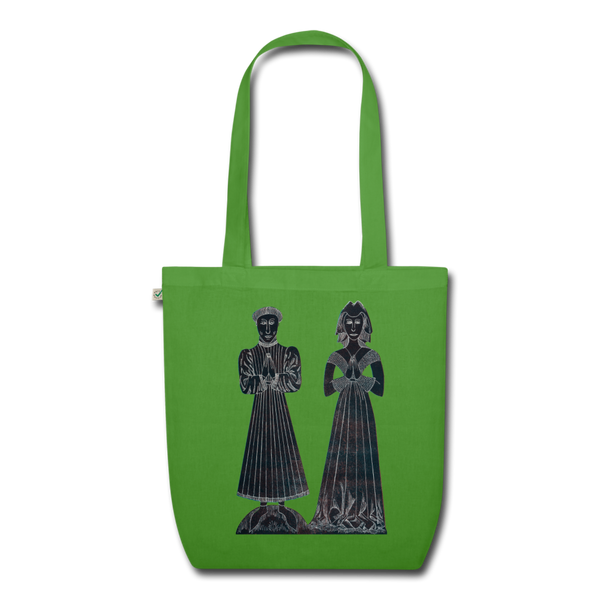 tote bag earthpositive (sustainable production, organic cotton) - leaf green