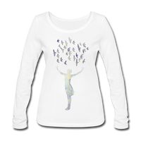 longsleeve top 'frances' (organic cotton) - white