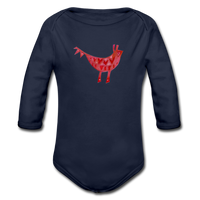 babygrow FUNKY BEASTS - dark navy