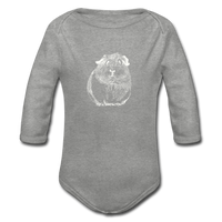babygrow ZOMPIGGY - heather grey