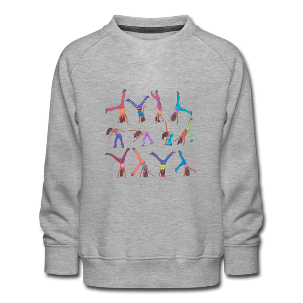 sweatshirt CICELY - heather grey