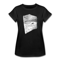 oversize t-shirt EARTH.SEA.SKY. - black