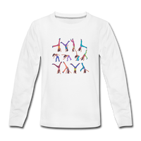 CICELY long-sleeve tee - white