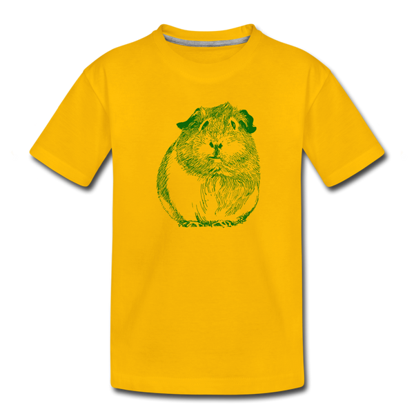PIGGY tee - sun yellow