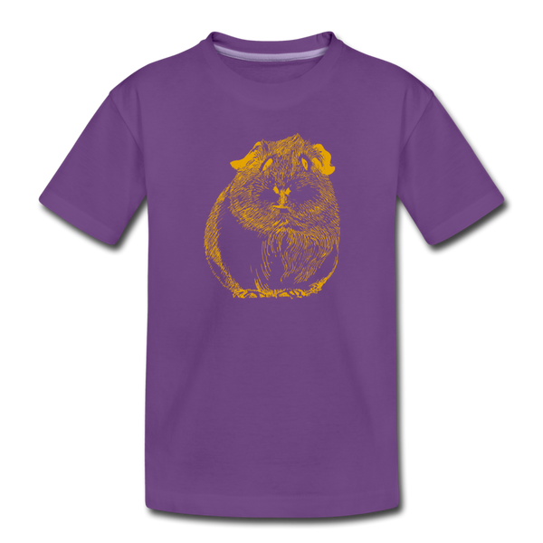 PIGGY tee - purple