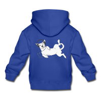 IDLE DOG hoodie - royal blue