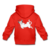 IDLE DOG hoodie - red