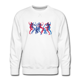 "sweatshirt ""breakbeat dancers' - white"