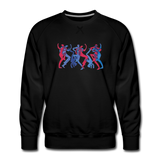 "sweatshirt ""breakbeat dancers' - black"