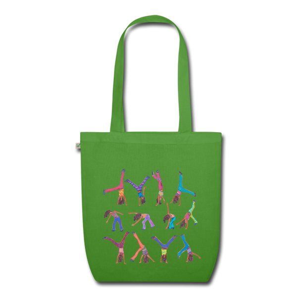 CICELY shopper - leaf green