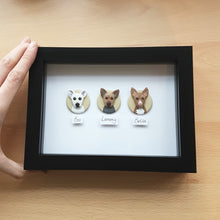 Load image into Gallery viewer, Mini Pet Portrait - TRIPLE
